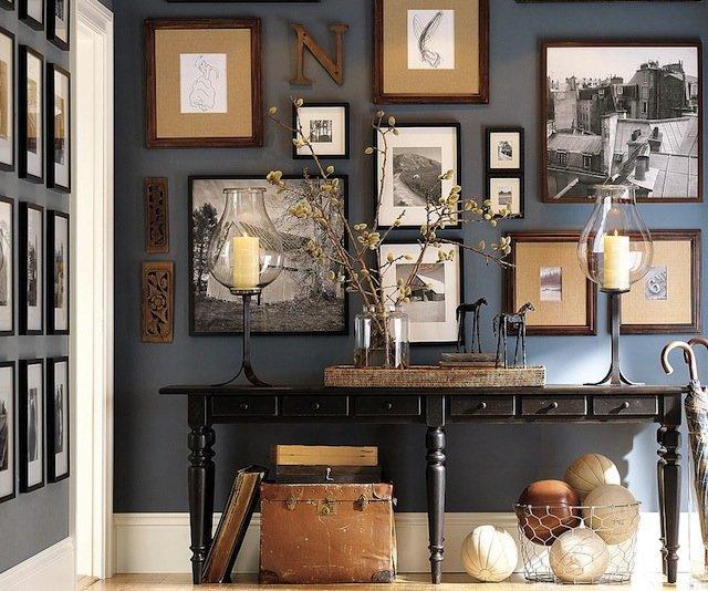 bluewallframes - Diy Picture Frame Collage