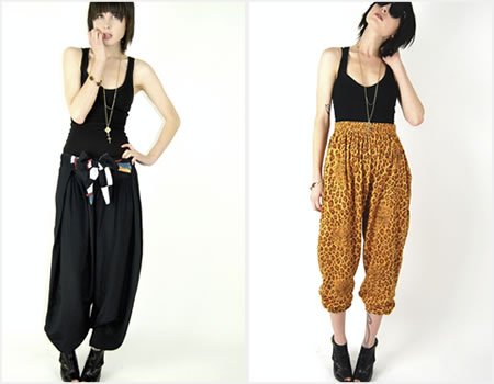 harem pants how to Top 5 Summer 2011 Trends
