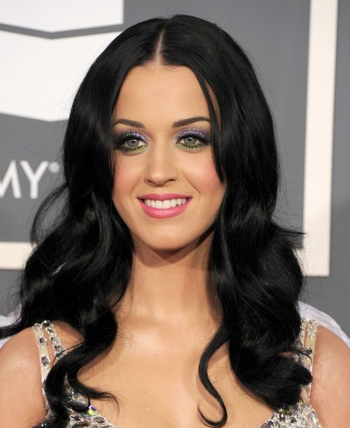 Katy Perry black hair