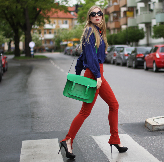 fashion squad Trend Alert: Red Jeans