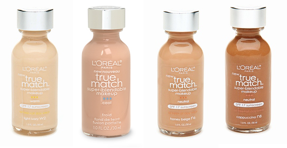 loreal true match foundation Money Saving Makeup Advice