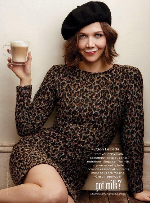 Got Milk Maggie Gyllenhaal Full Steal Her Look: Maggie Gyllenhaals Got Milk Ad