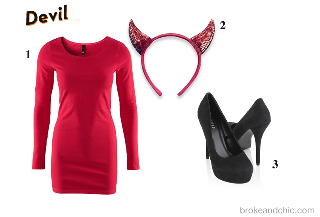 devil A Broke & Chic Halloween
