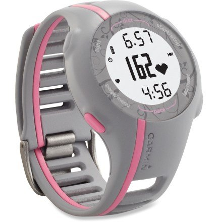 Garmin Forerunner 110 GPS Enabled Sport Watch with Heart Rate Monitor Pink The Best Gadget Gifts for Christmas 2011