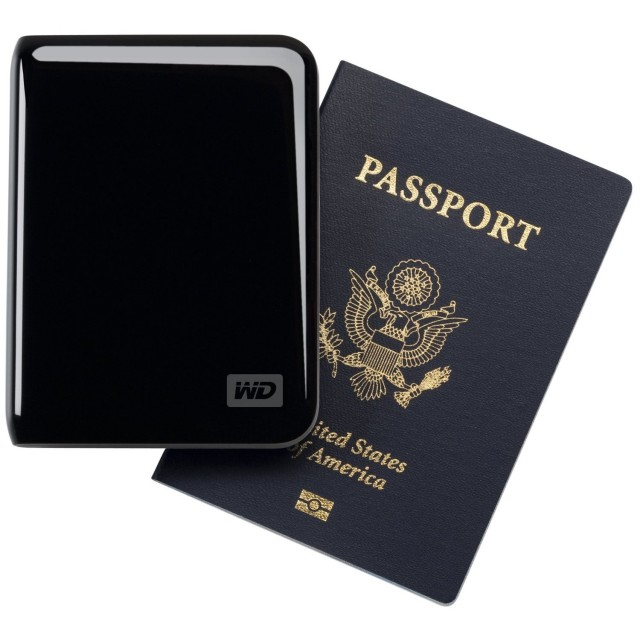 Western Digital My Passport Essential SE 1 TB USB 3.0 2.0 Ultra Portable External Hard Drive Black 8 640x640 The Best Gadget Gifts for Christmas 2011