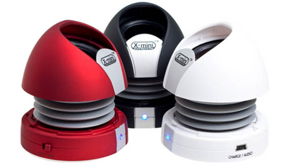 X Mini Max II Capsule Speakers The Best Gadget Gifts for Christmas 2011
