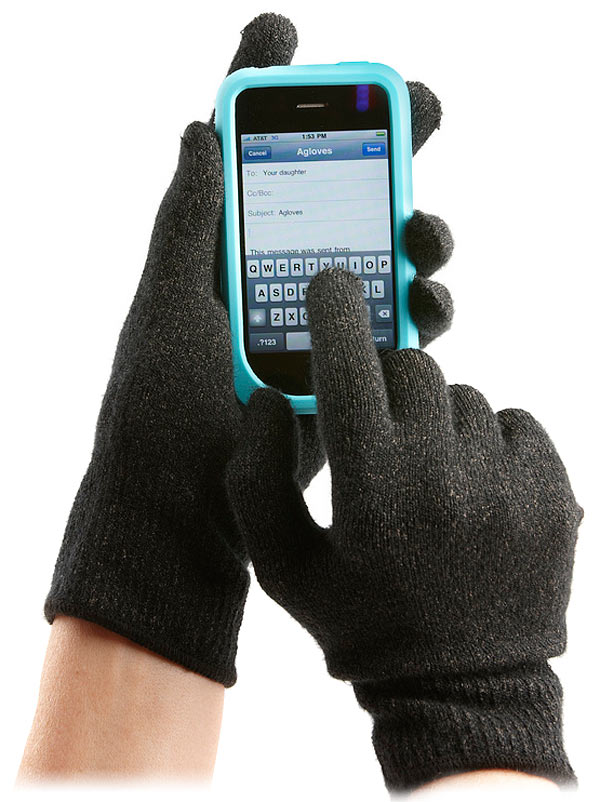 e797 agloves capacitive touchscreen gloves1 The Best Gadget Gifts for Christmas 2011
