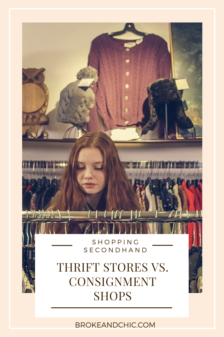 Thrift Stores Vs. Consignment Shops