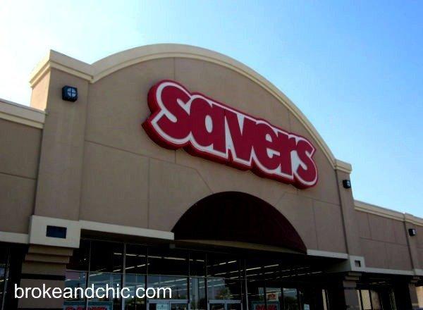 Savers storefront