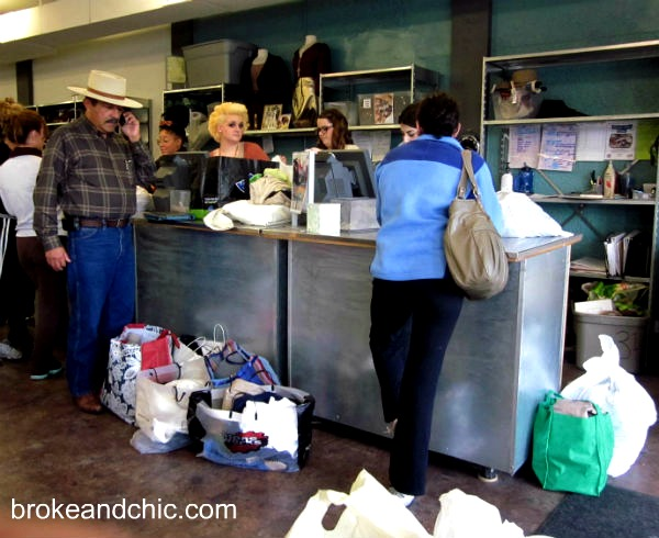 Selling your clothes at Buffalo Exchange Austin Texas
