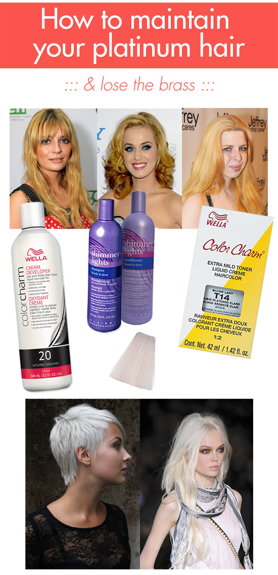 3 Ways To Maintain Your Platinum Blonde Hair Lose The Brass
