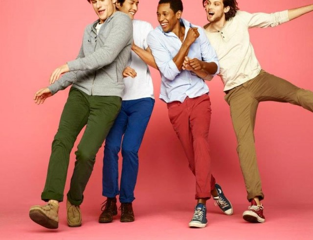 gap1 640x491 Gaps New S/S 2012 Be Bright Campaign