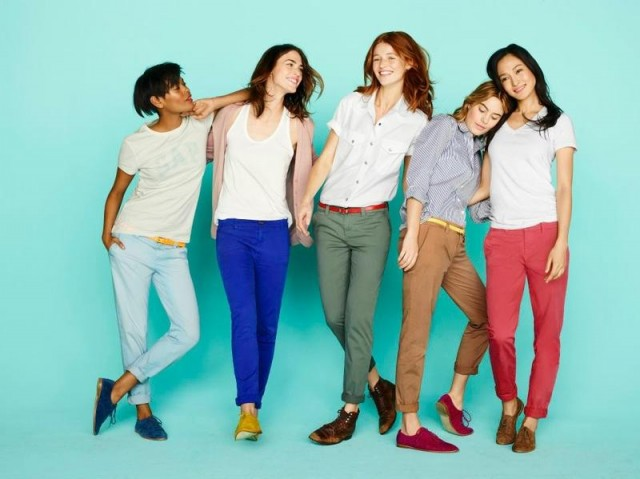 gap2 640x479 Gaps New S/S 2012 Be Bright Campaign