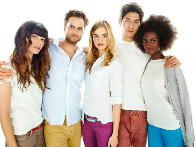 gap7 640x479 Gaps New S/S 2012 Be Bright Campaign