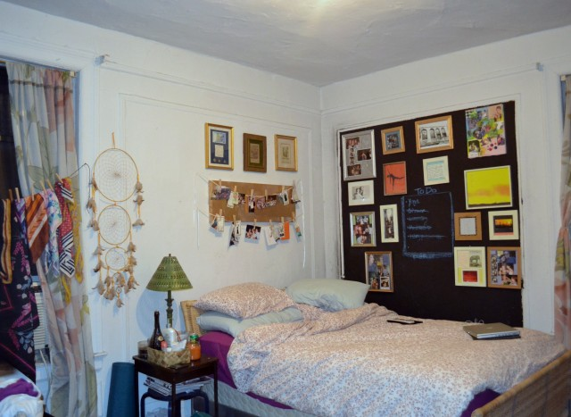 katie1 640x467 Budget Decor: Katies Eclectic Bedroom