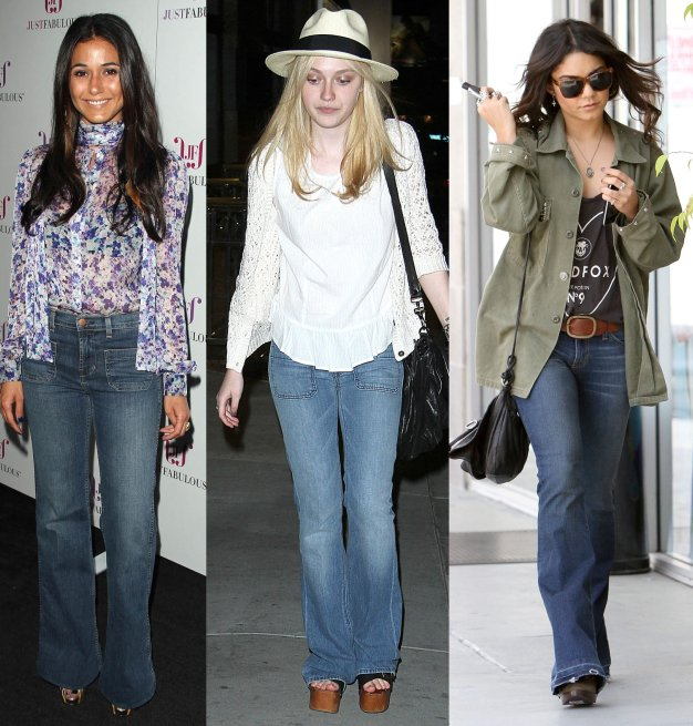 Trend Alert: Are Flare Jeans Coming Back?