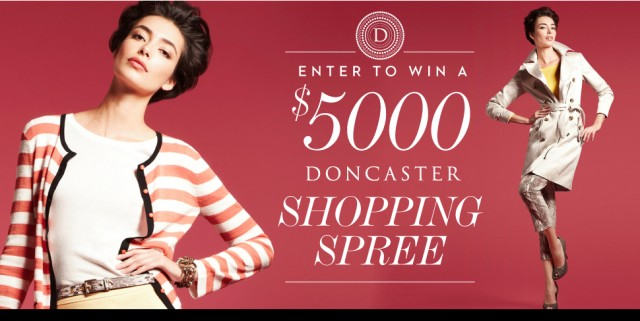 DC HOME IMG SHOPPINGSPREE 970x488 640x321 Win It: A $5000 Shopping Spree from Doncaster