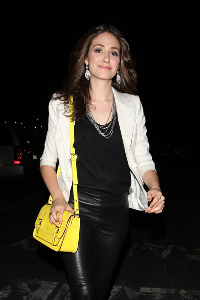 Emmy+Rossum+Shoulder+Bags+Satchel+jluu8zVlmool Trend Alert: Yellow