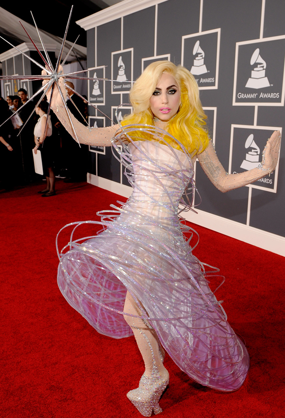 GAGA GRAMMYS Rainbow Hair is Taking Over Hollywood