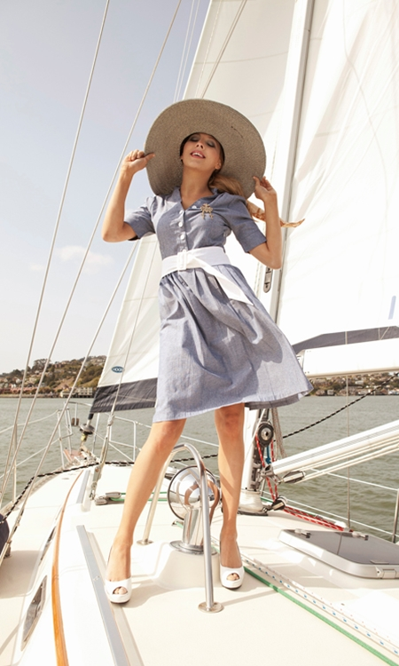 chambray1 Spring Fashion, Nautical Style