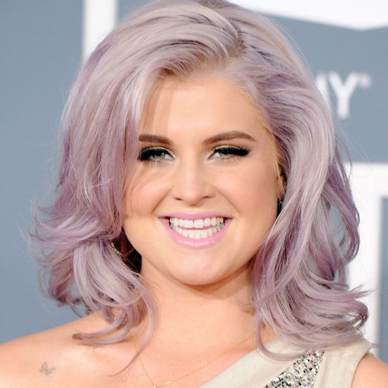 kelly osborne lavender hair Rainbow Hair is Taking Over Hollywood