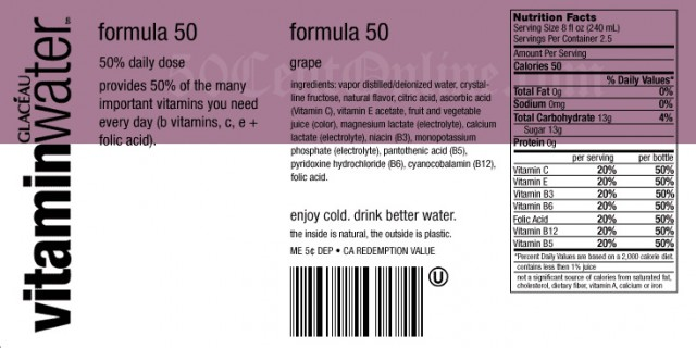 vitamin water 640x320 4 Great Ways to Up Your Water Intake