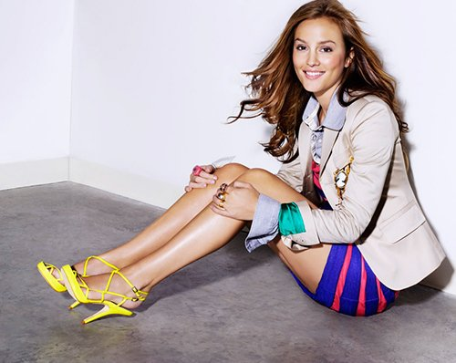 leighton meester glamour mexico june 2012 1 Steal Her Look: Leighton Meester Does Glamour Mexico