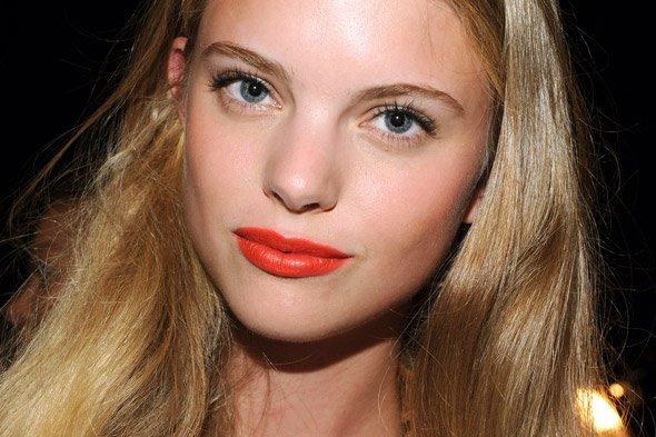 Orange Lips!
