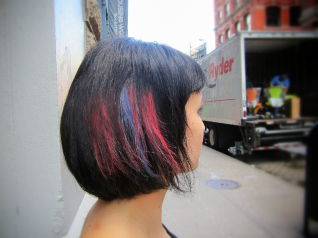 1029 640x480 Red, White & Blue Hair Chalking Tutorial for Memorial Day