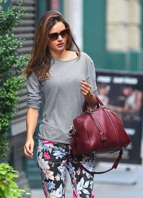 Steal Her Look: Miranda Kerrs Floral Pants
