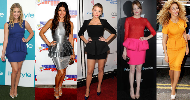 whydid-celebrity-peplum-dresses
