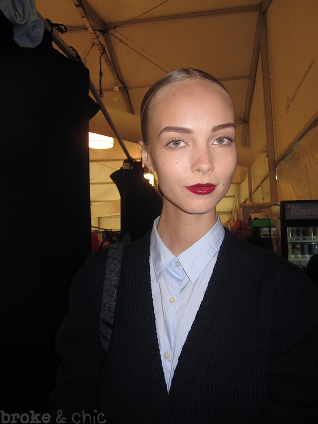 IMG 1392 copy NYFW Beauty Trends: Backstage at Naeem Khan