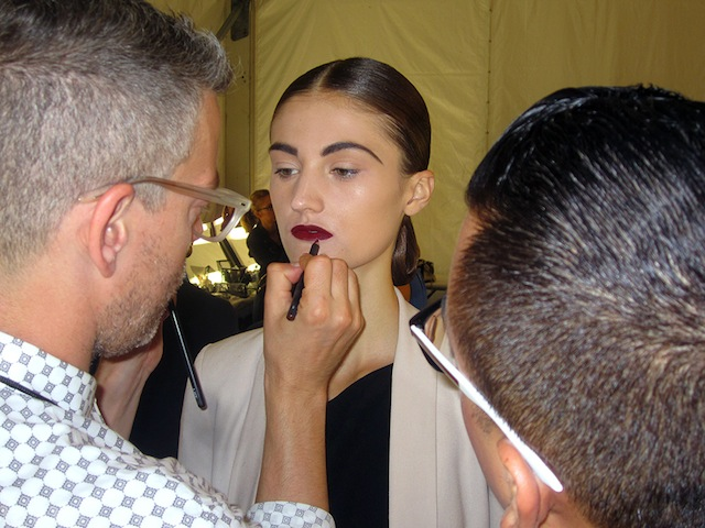 IMG 1450 copy NYFW Beauty Trends: Backstage at Naeem Khan