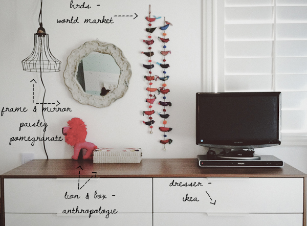 room5 1 Budget Decor: This Girl Knows How to Re Decorate a Room