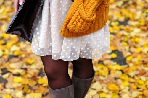 Trend Alert: Colored Tights
