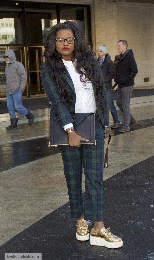 image 1 2 7 Street Style Trends at New York Fashion Week F/W 13