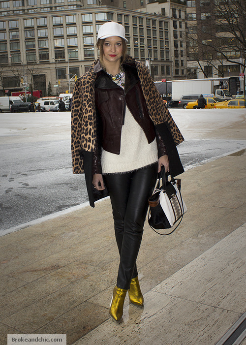image 1 7 Street Style Trends at New York Fashion Week F/W 13