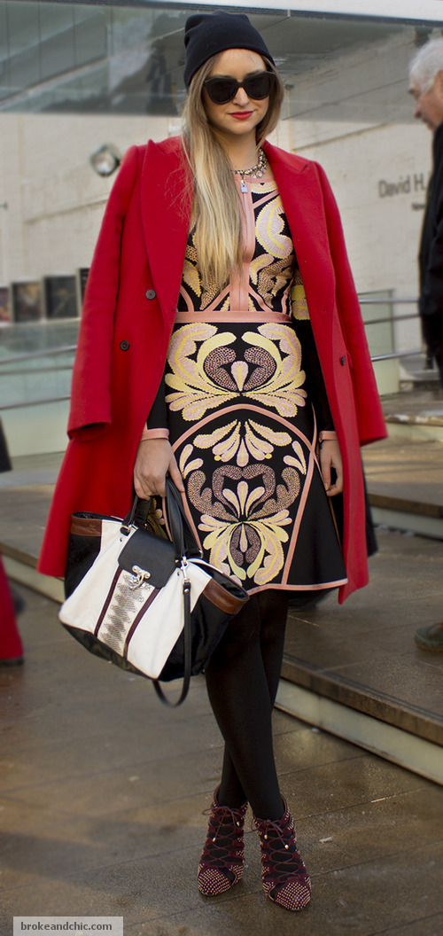 image 3 3 7 Street Style Trends at New York Fashion Week F/W 13