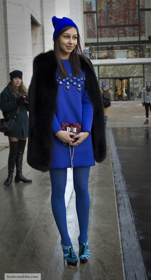image 5 2 7 Street Style Trends at New York Fashion Week F/W 13
