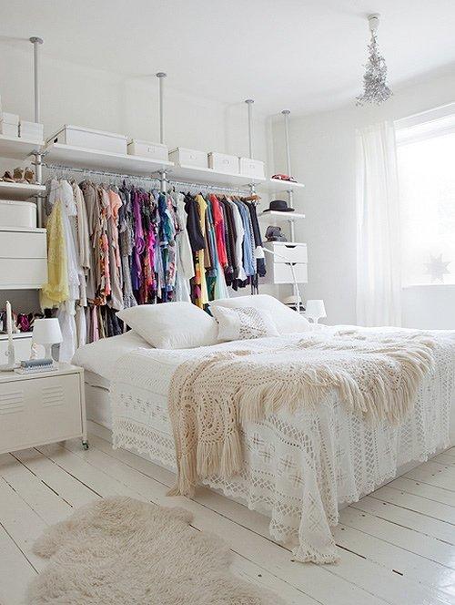 Dream bedroom! // www.brokeandchic.com
