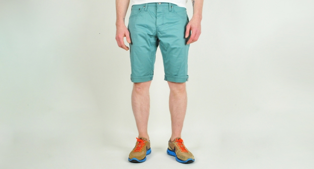 levis commuter slim shorts 511 commuter short pistazie 01 Coachella Fashion   Your Guide to 2013 Styles and Trends