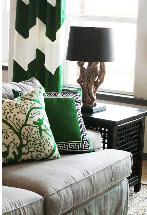emerald-green-home-decor-pillows