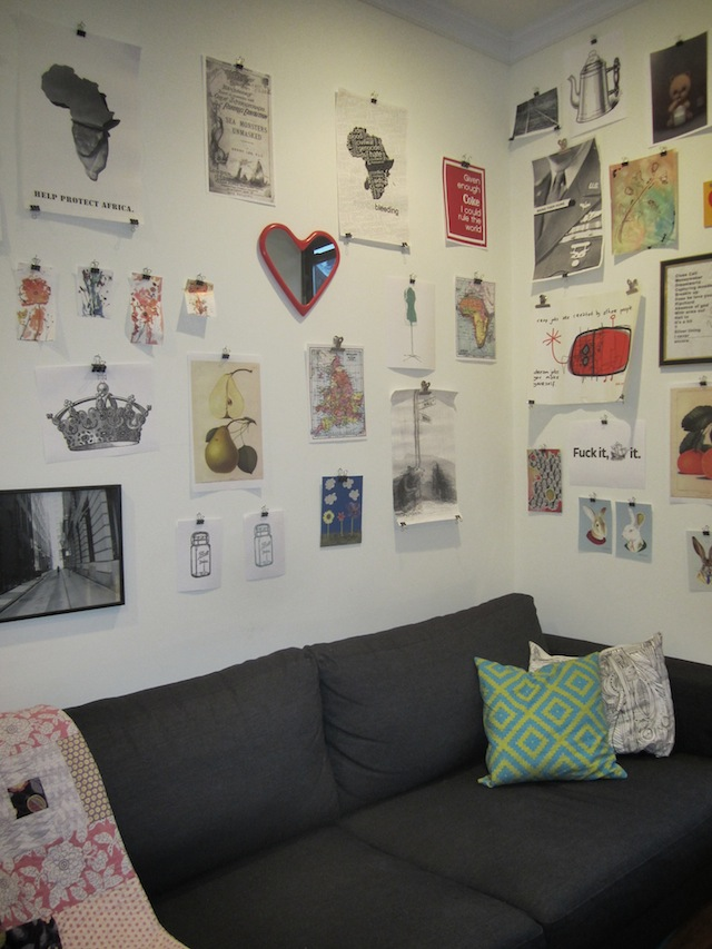 wall33 Broke Decor: How To Create a Wall Collage