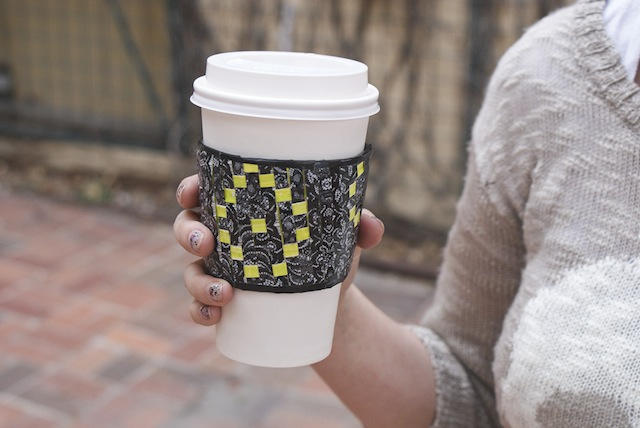 DIY Duct Tape Coffee Sleeve Whimseybox 1 DIY: 8 Unexpected Things to Do with Duct Tape