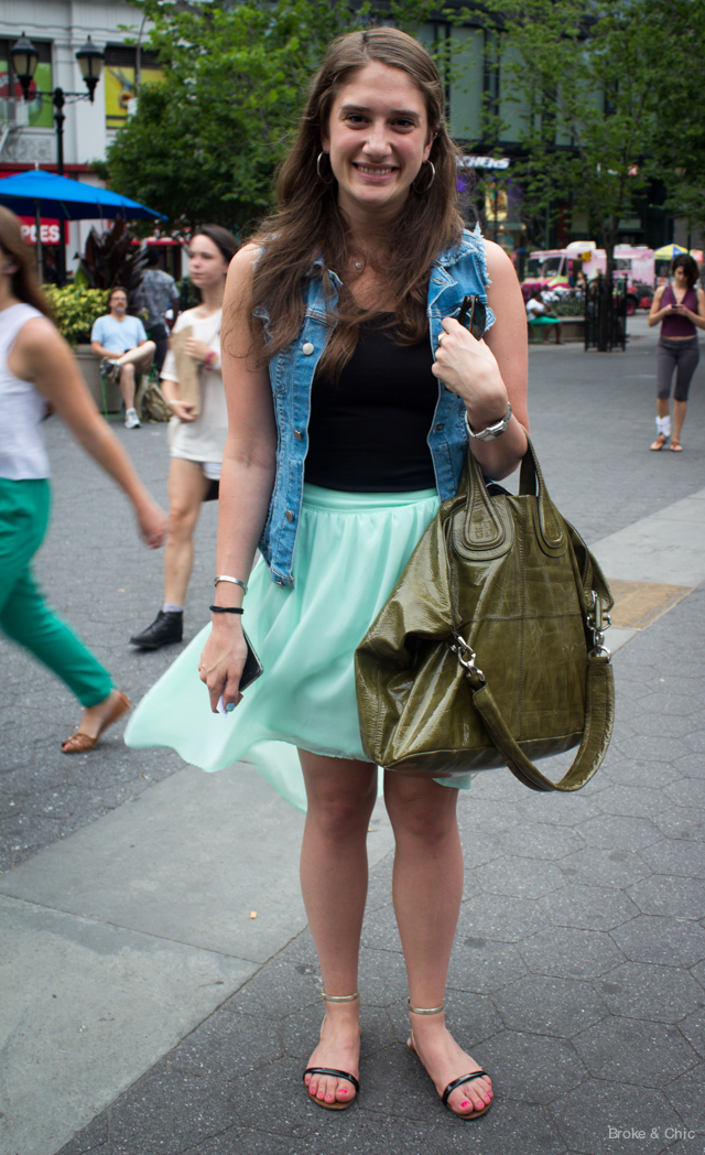 IMG 2604 Street Style in Manhattans Union Square (it was 90 degrees!)