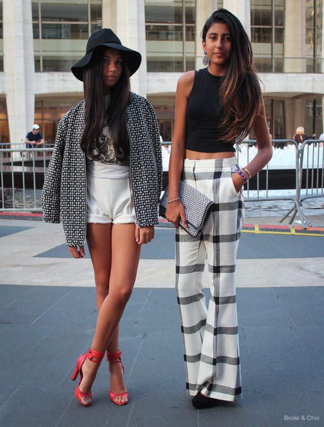 IMG 3987 Street Style: Fashionable Duos at NYFW