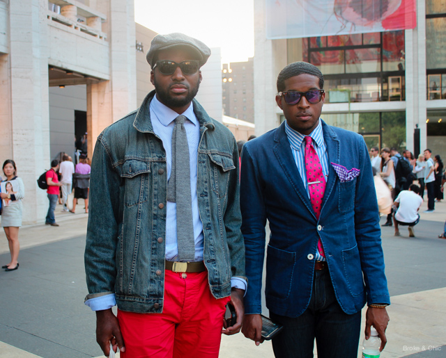 IMG 3991 Street Style: Fashionable Duos at NYFW