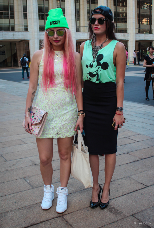 IMG 3995 Street Style: Fashionable Duos at NYFW
