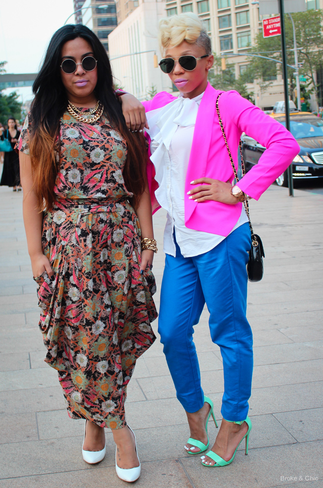 IMG 4001 Street Style: Fashionable Duos at NYFW