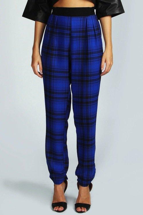 plaid-trousers